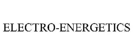 ELECTRO-ENERGETICS