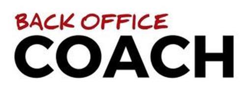 BACK OFFICE COACH
