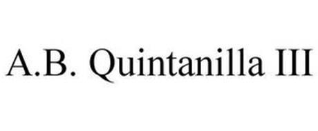 A.B. QUINTANILLA III