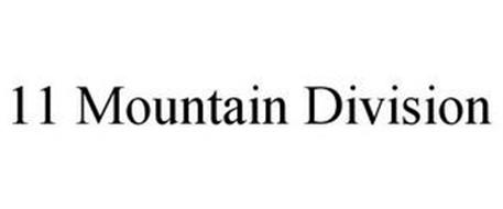 11 MOUNTAIN DIVISION