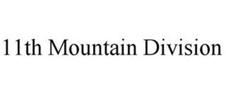 11TH MOUNTAIN DIVISION