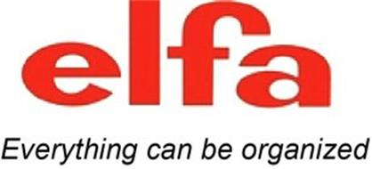 ELFA EVERYTHING CAN BE ORGANIZED