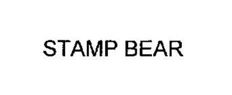 STAMP BEAR