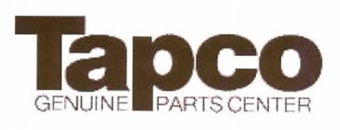 Tapco Genuine Parts Center Trademark Of Elias Industries Inc