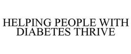HELPING PEOPLE WITH DIABETES THRIVE