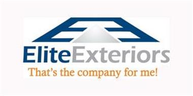 ELITE EXTERIORS THAT'S THE COMPANY FOR ME!