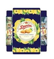 DANISA PINEAPPLE FILLED COOKIES ORIGINAL RECIPE EUROPEAN STYLE COOKIES UNDER LICENSE BY DANISH SPECIALTY FOODS APS DANISA DANISA