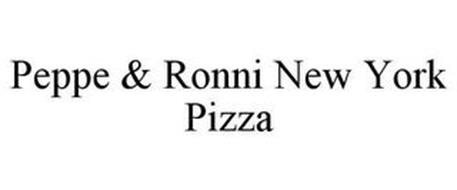 PEPPE & RONNI NEW YORK PIZZA