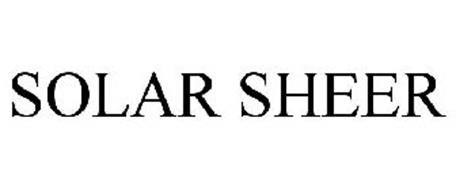 SOLAR SHEER