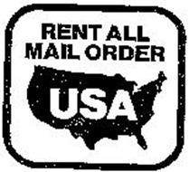 RENT ALL MAIL ORDER USA