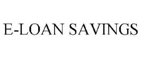 E-LOAN SAVINGS