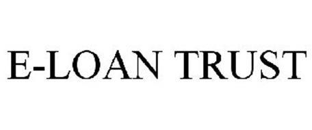 E-LOAN TRUST