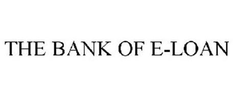 THE BANK OF E-LOAN