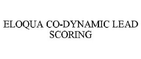 ELOQUA CO-DYNAMIC LEAD SCORING