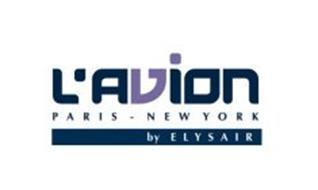 L'AVION PARIS - NEW YORK BY ELYSAIR