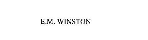 E.M. WINSTON