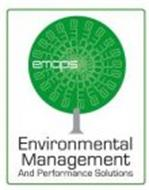 EMAPS ENVIRONMENTAL MANAGEMENT AND PERFORMANCE SOLUTIONS
