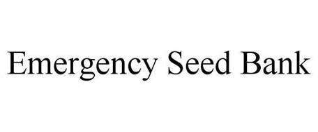 EMERGENCY SEED BANK
