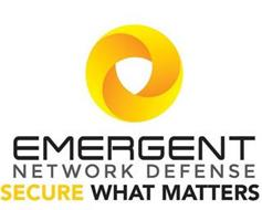 EMERGENT NETWORK DEFENSE SECURE WHAT MATTERS