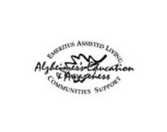 EMERITUS ASSISTED LIVING COMMUNITIES SUPPORT ALZHEIMER'S EDUCATION & AWARENESS
