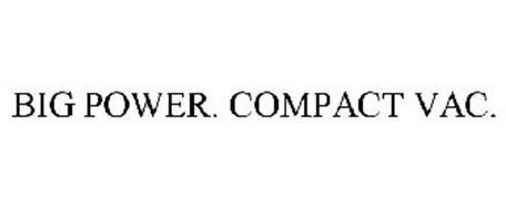 BIG POWER. COMPACT VAC.