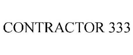 CONTRACTOR 333