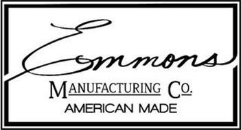 EMMONS MANUFACTURING CO. AMERICAN MADE