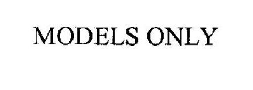 MODELS ONLY