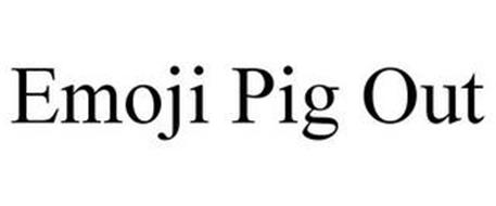 EMOJI PIG OUT