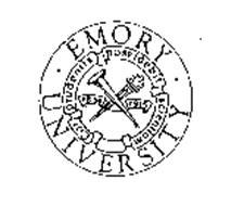 EMORY UNIVERSITY CORPRUDENTIS POSSIDEBIT SCIENTIAM 1836 1915
