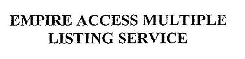 EMPIRE ACCESS MULTIPLE LISTING SERVICE, INC.
