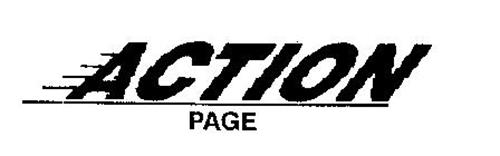 ACTION PAGE
