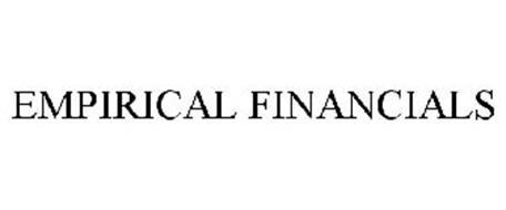 EMPIRICAL FINANCIALS