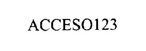 ACCESO 123