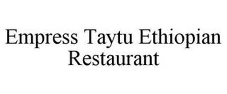 EMPRESS TAYTU ETHIOPIAN RESTAURANT