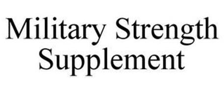 MILITARY STRENGTH SUPPLEMENT
