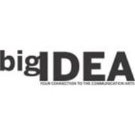 BIG IDEA YOUR CONNECTION TO THE COMMUNICATION ARTS
