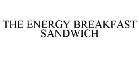 THE ENERGY BREAKFAST SANDWICH