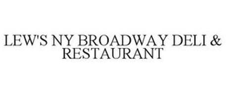 LEW'S NY BROADWAY DELI & RESTAURANT