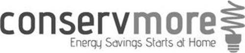CONSERVMORE ENERGY SAVINGS STARTS AT HOME