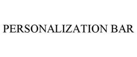 PERSONALIZATION BAR