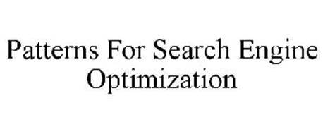 PATTERNS FOR SEARCH ENGINE OPTIMIZATION