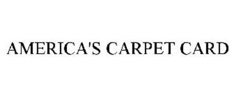 AMERICA'S CARPET CARD