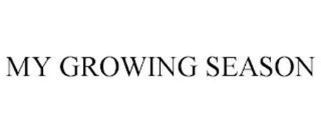 MY GROWING SEASON
