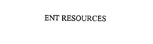 ENT RESOURCES