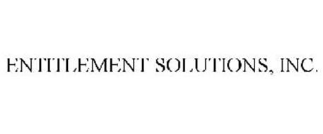 ENTITLEMENT SOLUTIONS, INC.