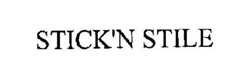 STICK'N STILE