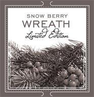 SNOW BERRY WREATH LIMTED EDITION