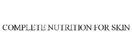 COMPLETE NUTRITION FOR SKIN