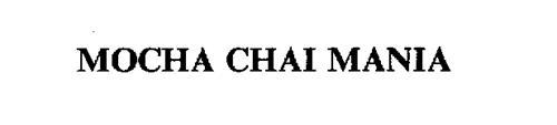 MOCHA CHAI MANIA